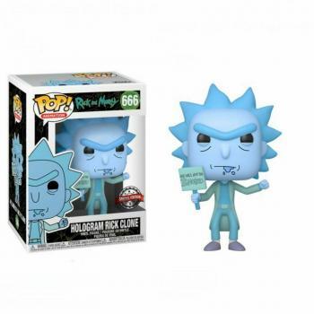 Rick and Morty POP! Vinyl Figure - Rick (Hologram) (GITD) (Special Edition) [STANDARD]