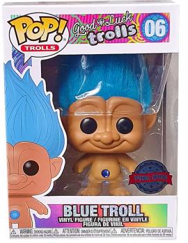 Trolls Classic POP! Vinyl Figure - Blue Troll (Special Edition)