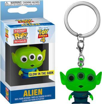Disney Toy Story Pocket POP! Key Chain - Alien (GITD) (Special Edition)