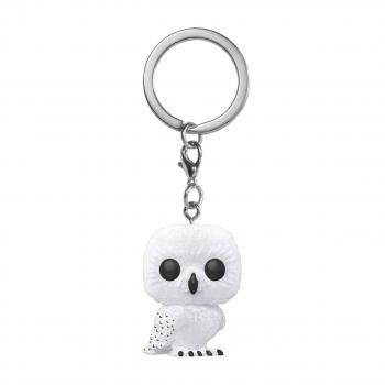 Harry Potter Pocket POP! Key Chain - Hedwig (Flocked)