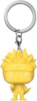 Naruto Shippuden POP! Key Chain - Naruto Six Path (Yellow)(GITD) (Special Edition)