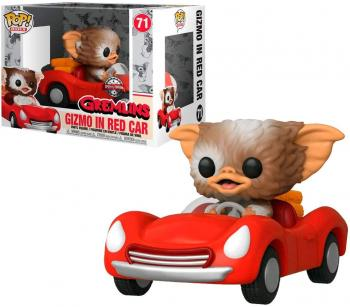 Gremlins POP! Rides Vinyl Figure - Gizmo w/ Red Car (Special Edition)