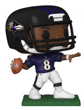NFL Stars POP! Vinyl Figure - Lamar Jackson (Baltimore Ravens)