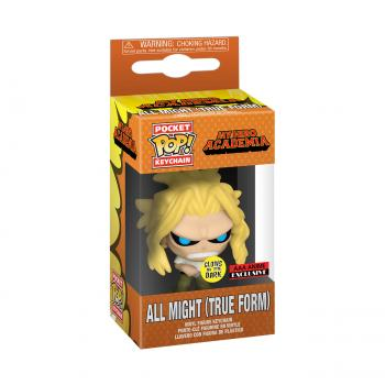 My Hero Academia Pocket POP! Key Chain - All Might (Weakened) (GITD) (AAA Anime Exclusive)