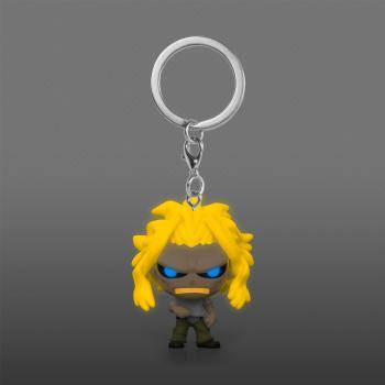 My Hero Academia Pocket POP! Key Chain - All Might (Weakened) (GITD) (AAA Anime Exclusive)