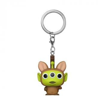 Disney's Pixar Pocket POP! Key Chain - Alien as Bullseye