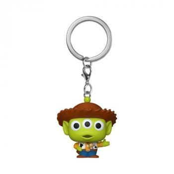 Disney's Pixar Pocket POP! Key Chain - Alien as Woody