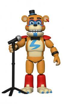 Pizza Plex Five Nights at Freddy's Action Figure - Glamrock Freddy