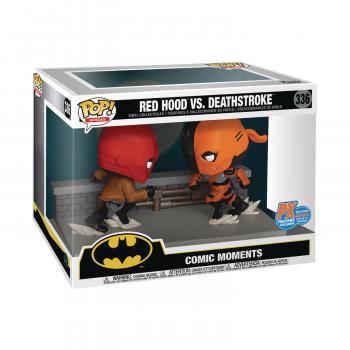 Batman POP! Vinyl Figure - Red Hood Vs. Deathstroke Comic Moment (PX Exclusive)