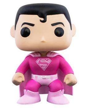 Superman POP! Vinyl Figure: Superman (Breast Cancer Awareness)