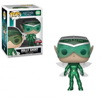 Artemis Fowl POP! Vinyl Figure - Holly Short (Metallic) (Disney) (Overseas Edition)