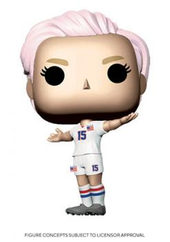 USWNT Soccer Stars POP! Vinyl Figure - Megan Rapinoe [COLLECTOR]