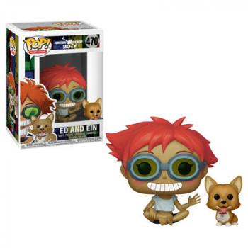 Cowboy Bebop POP! Vinyl Figure - Edward & Ein [COLLECTOR]