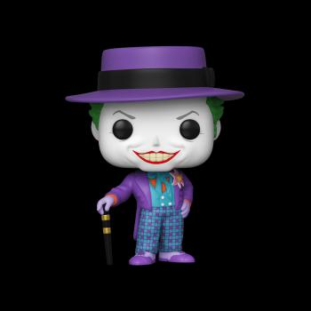 Batman POP! Vinyl Figure - Joker (1989) w/ Hat (Jack Nicholson) [COLLECTOR]