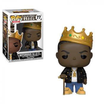 Pop Rocks POP! Vinyl Figure - Notorious B.I.G (Crown)