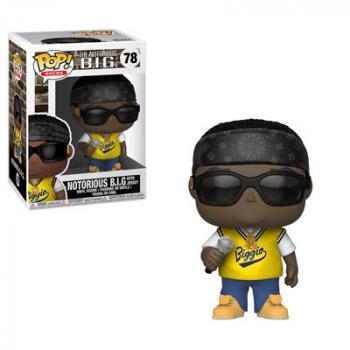 Rocks POP! Vinyl Figure - Notorious B.I.G (Juicy) [COLLECTOR]