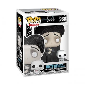 Corpse Bride POP! Vinyl Figure - Victor Van Dort w/ Scraps [COLLECTOR]