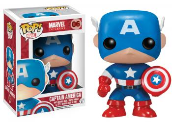 Captain America POP! Vinyl Figure - Captain America (Marvel) [COLLECTOR]