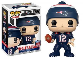 NFL Stars POP! Vinyl Figure - Tom Brady (Patriots Color Rush)