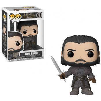 Game of Thrones POP! Vinyl Figure - Jon Snow (Beyond the Wall) [COLLECTOR]