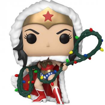 DC Comics Holiday  POP! Vinyl Figure - Wonder Woman w/ Light Lasso