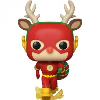 DC Comics Holiday POP! Vinyl Figure - Flash (Rudolph)