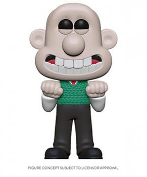 Wallace and Gromit POP! Vinyl Figure - Wallace [COLLECTOR]