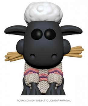 Wallace and Gromit POP! Vinyl Figure - Shaun the Sheep [COLLECTOR]