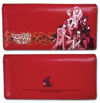 Wallflower Wallet - Group on Red