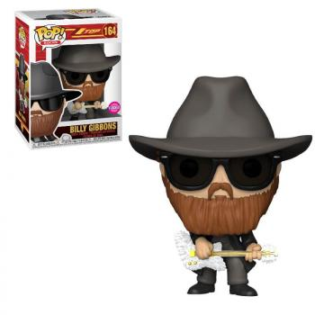 Pop Rocks ZZ Top POP! Vinyl Figure - Billy Gibbons [COLLECTOR]