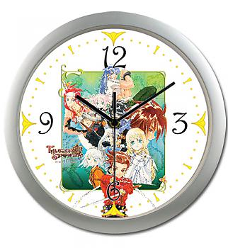 Tales Of Symphonia Wall Clock - PS2 Key Art