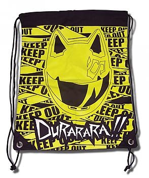 Durarara!! Drawstring Backpack - Celty Keep Out