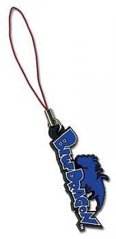Blue Dragon Phone Charm - Logo