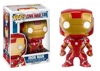 Civil War Captain America 3 POP! Bobble Head Vinyl Figure - Iron Man