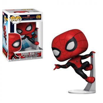 Spiderman: Far From Home POP! Vinyl Figure - Spiderman (Upgraded Suit)