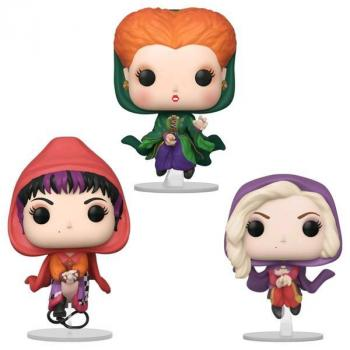 Hocus Pocus Disney POP! Vinyl Figure - Flying Sanders Sisters (Set of 3) (Special Edition)