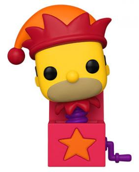 Treehouse of Horror Box POP! Vinyl Figure -Homer Jack-In-The Simpsons