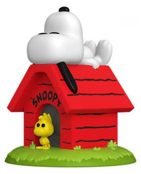 Peanuts POP! Deluxe Vinyl Figure - Snoopy on Doghouse