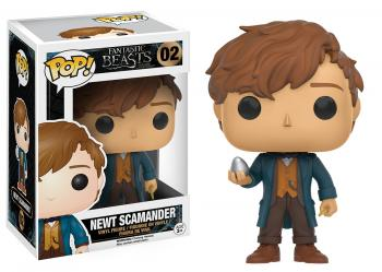Fantastic Beasts POP! Vinyl Figure - Newt Scamander w/ Egg