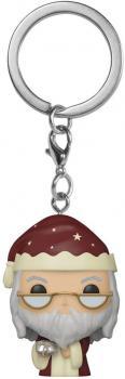 Harry Potter Pocket POP! Key Chain - Holiday Dumbledore Pocket Pop