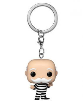 Monopoly Pocket POP! Key Chain - Criminal Uncle Pennybags