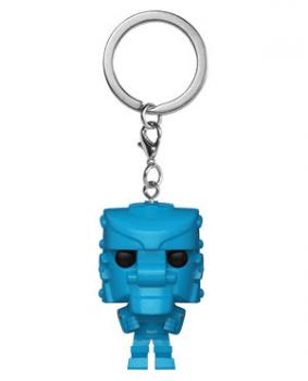 Mattel Pocket POP! Key Chain - Rock Em Sock Em Robot (Blue)