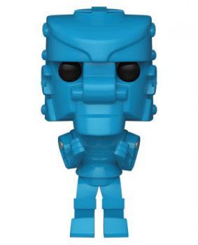 Mattel POP! Vinyl Figure - RockEm SockEm Robot (Blue)