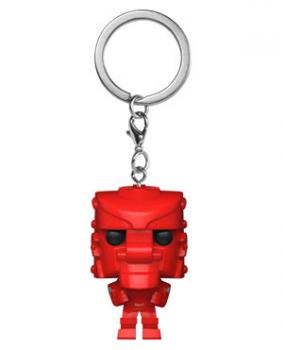 Mattel Pocket POP! Key Chain - Rock Em Sock Em Robot (Red)