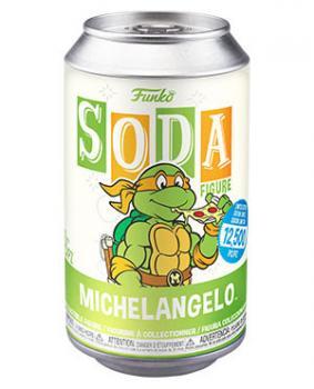Teenage Mutant Ninja Turtles Vinyl Soda Figure - Michaelangelo (Limited Edition: 12,500 PCS)