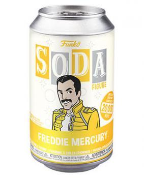 Queen Vinyl Soda Figure - Freddie Mercury (Limited Edition: 20,000 PCS)
