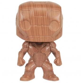 Iron Man POP! Vinyl Figure - Iron Man Pop Figure (Wood) (Special Edition)