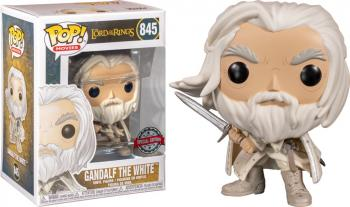 Lord of the Rings POP! Vinyl Figure - Gandalf the White w/ Sword (Special Edition)