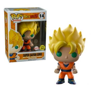 Dragon Ball Z POP! Vinyl Figure - Super Saiyan Goku (GITD) (Special Edition)
