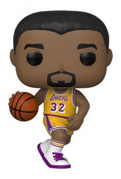 NBA Legends POP! Vinyl Figure - Magic Johnson (Lakers Home) (Los Angeles Lakers)